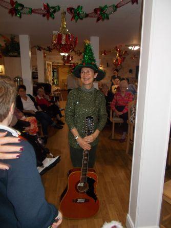 Mrs Murphy's grand hat!