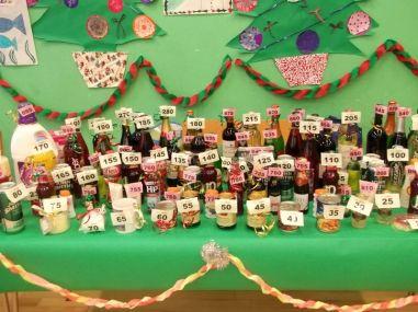 The ever popular Bottle Stall.