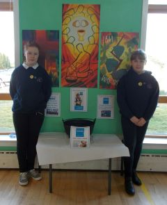 Money raised is to go to Mary's Meals